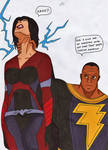 Dc - Black adam vs Stormfront