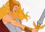 She-Ra the power of sword by Tyrannuss555
