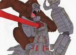 Godzilla vs Kong - Kong the hero