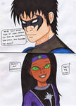 Dc - Nightwing's daughter by Tyrannuss555