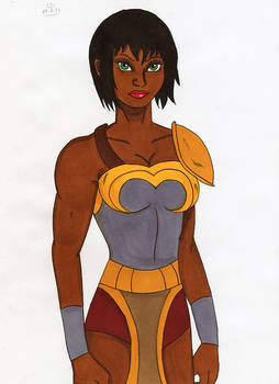 Dc - Nubia in the ring