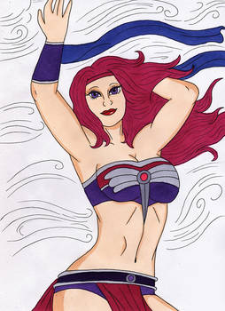 Spinnerella power of the wind
