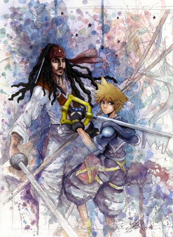 KH2 Bleeding Pirate by Revenant-Wings