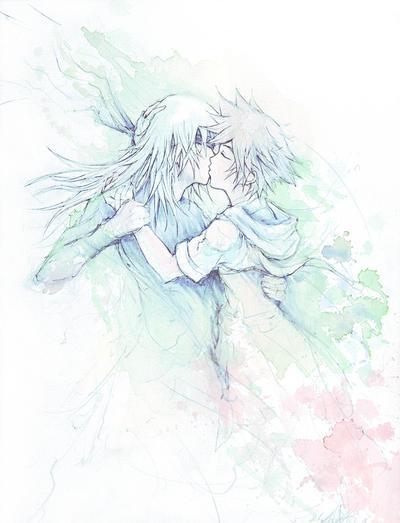 SoraXRiku Goodbye Kiss by Revenant-Wings