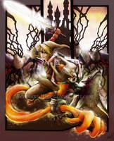 Zelda :Battle in the Twilight: by Revenant-Wings