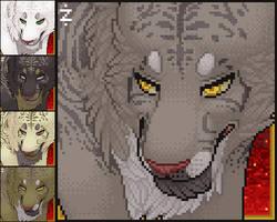 Furcadia Portrait: Sylvanis by Zingey