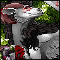 Furcadia Portrait: Dragoon by Zingey
