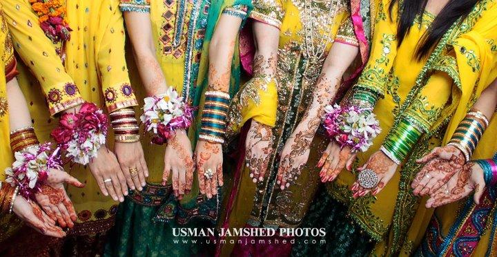 Mehndi / Henna in Pakistani Weddings by UsmanJamshed