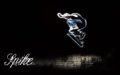 me skating by Unstabl3-art