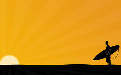 surfer background by justgui