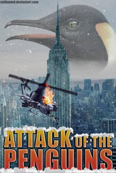 Attack of the Penguins Movie Poster