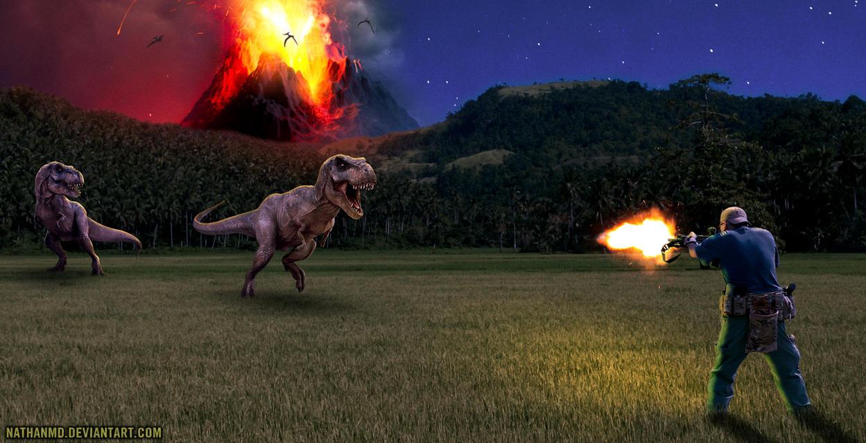 The Dinosaur Hunter by NathanMD
