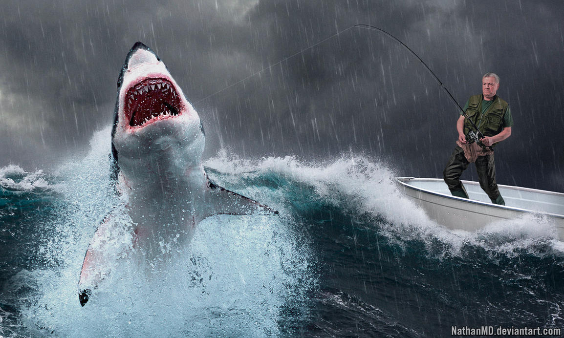 Shark Storm by NathanMD