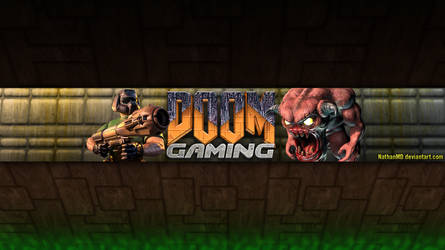 DOOM Gaming - YouTube Banner