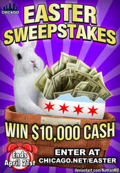 Easter Sweepstakes Ad