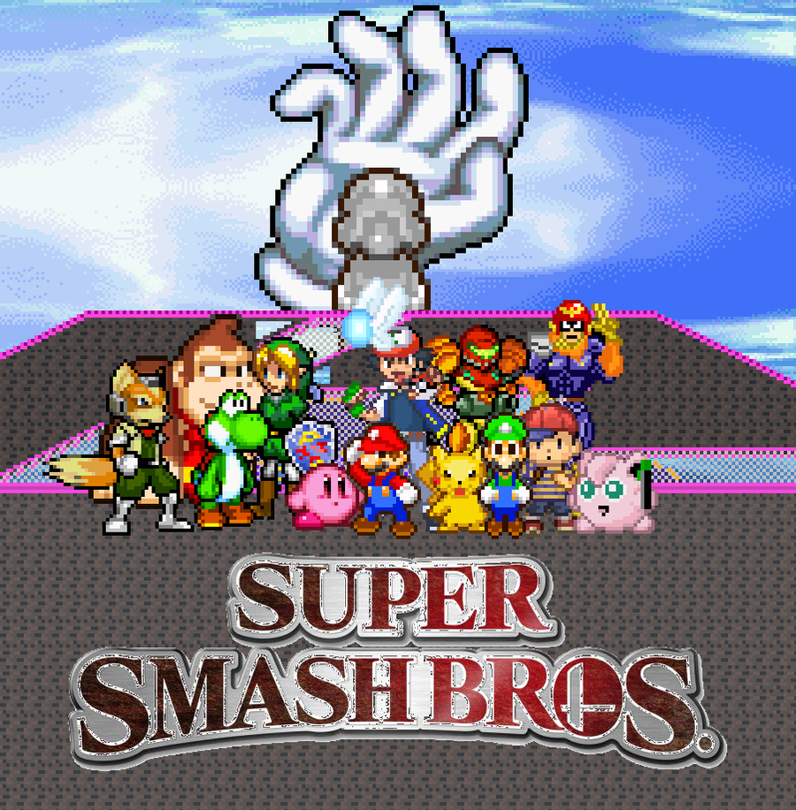 Super Smash Brothers N64 by gold-ring-951 on DeviantArt
