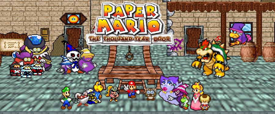 Paper Mario: The Thousand Year Door By Gold-ring-951 On