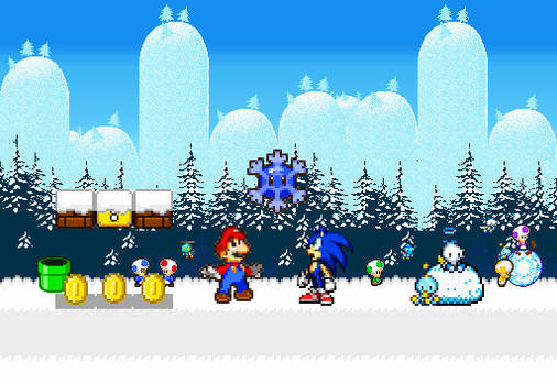 Mario and Sonic Winter Adventure