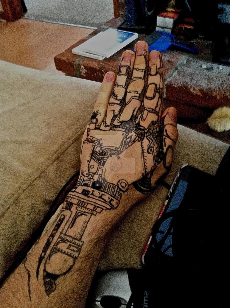 1a085bad6b78a Robotic hand by EasternVolcanos on DeviantArt