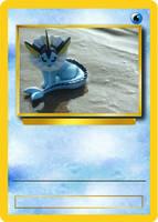 Vaporeon Card Mock Up by Official-Benjina