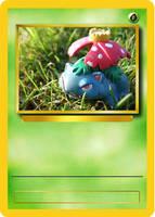 Venasaur Card Mock Up by Official-Benjina