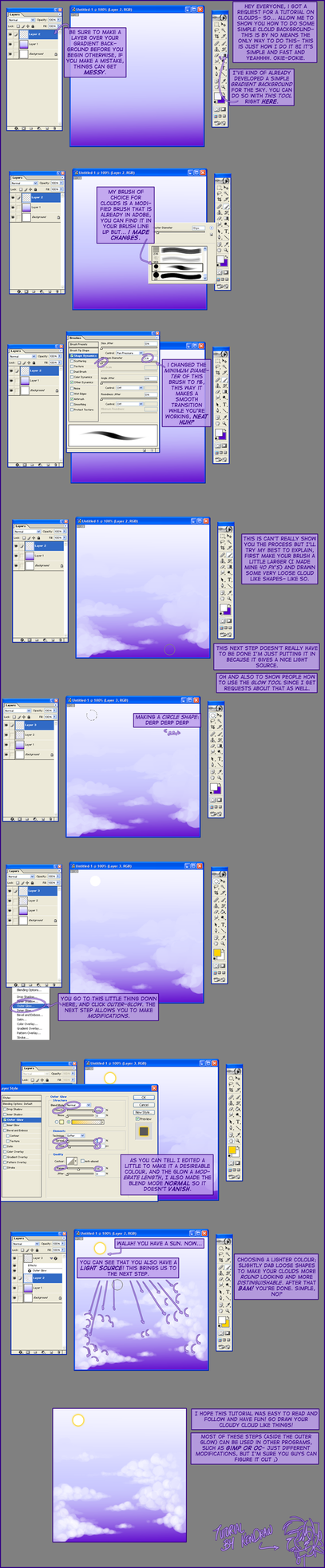 Cloud tutorial by cloudbabykc