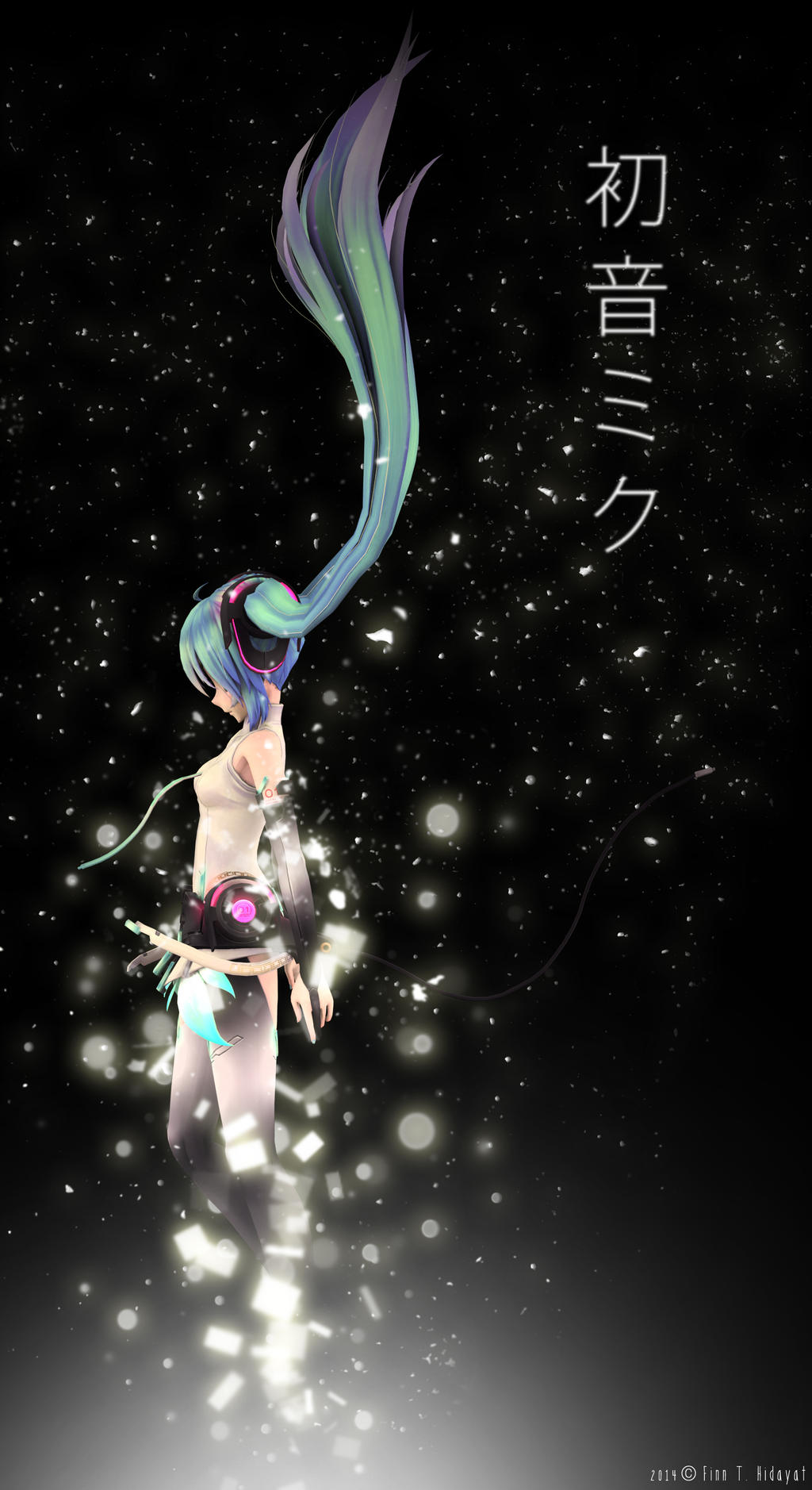 The Disappearance of Hatsune Miku by FinnTHidayat