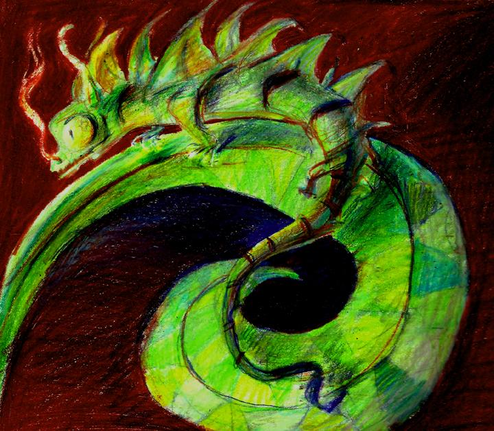 Chameleon Dragon By CBrengan On DeviantART