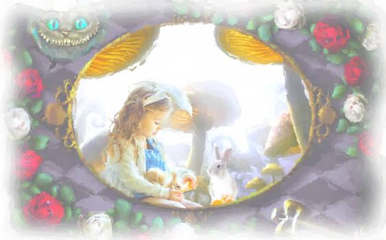 Easter in Wonderland by LouiseD