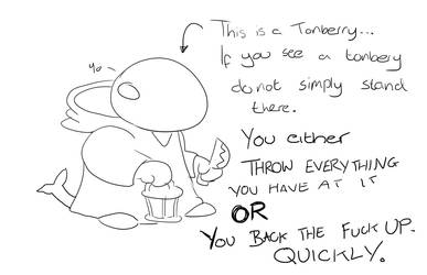 This is a Tonberry... by Creator1234