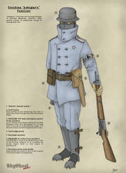 Fusiller Ashigaru Occidien (Eng) by PCFayard