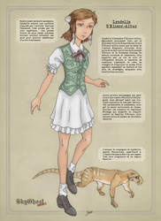 Main character: Lyndelle (Fr) by PCFayard