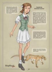 Main character: Lyndelle (Eng) by PCFayard