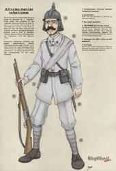 Fantassin regulier de l'Empire Alturien (Eng) by PCFayard