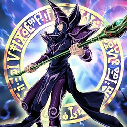 Dark Magician (20th Anniversary Artwork) by omgitsjohannes