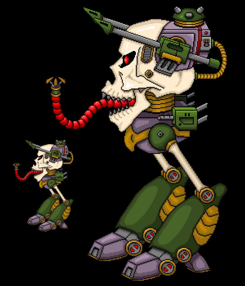 Skullwalker Boss by mrgilder
