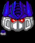 Transformers Pixel Heads - Soundwave