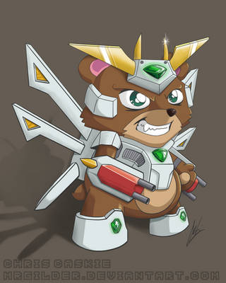 Mecha Bear by mrgilder