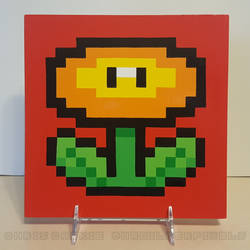 Super Mario All-Stars Fire Flower by mrgilder