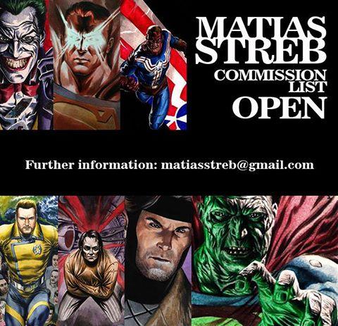 MATIAS STREB: Commission list open! by MatiasStreb