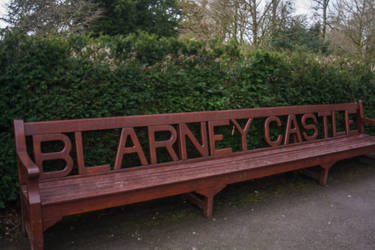 Blarney Castle Bench by Myktard