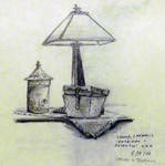 Lamp with Box