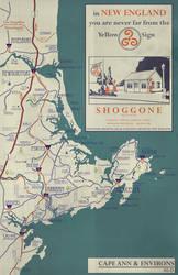 Arkham County late 1920's Road Atlas