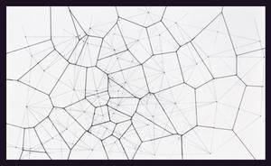 Hand-Drawn Voronoi Tesselation