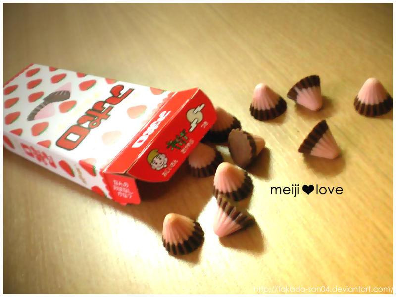 Meiji Chocolate Love