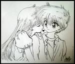 Cute Kiss: Miyu and Kanata