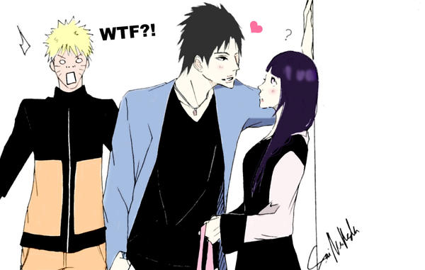 Sasuke is a flirt by isai-chan
