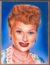 Lucille Ball #2 by Kellyoshi