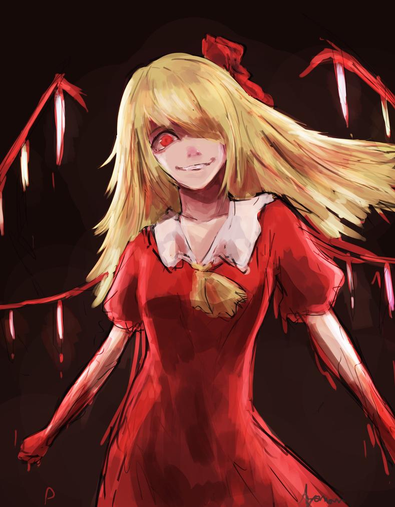 Flandre Scarlet by Ayamon