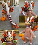 Mini Artdoll Commission: Spice the Angel Dragon